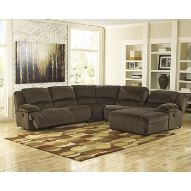 chocolate living room. 5670177 Ashley Furniture Toletta  Chocolate Living Room Sectional Wedge