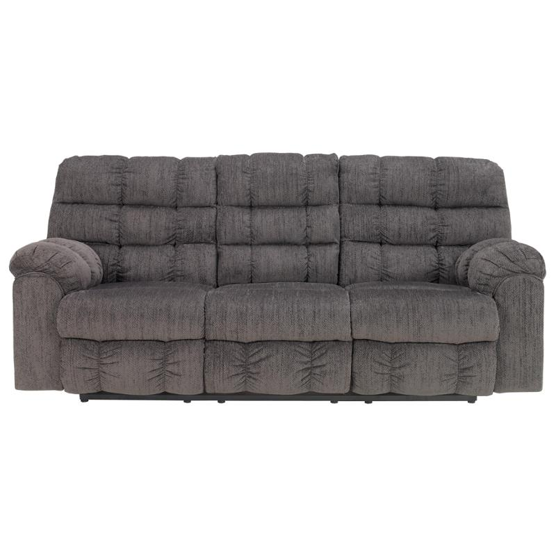 5830089 Ashley Furniture Recline Sofa With Drop Down Table