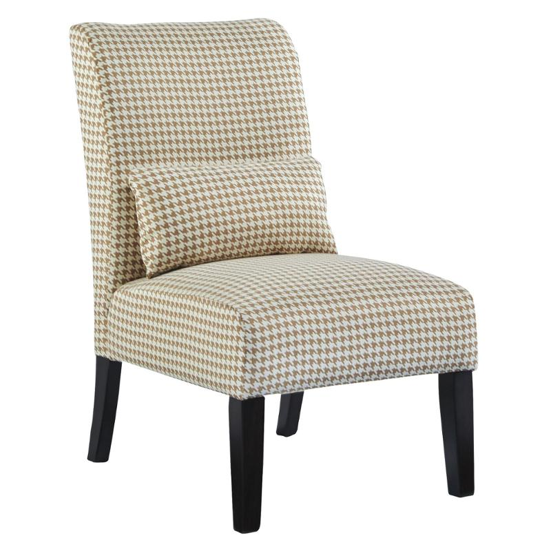 6160560 ashley furniture annora caramel accent chair - Ashley wilkes bedroom collection ...
