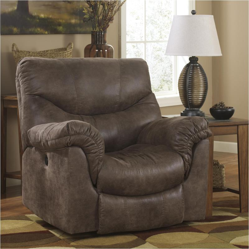 & 7140025 Ashley Furniture Alzena - Gunsmoke Rocker Recliner islam-shia.org