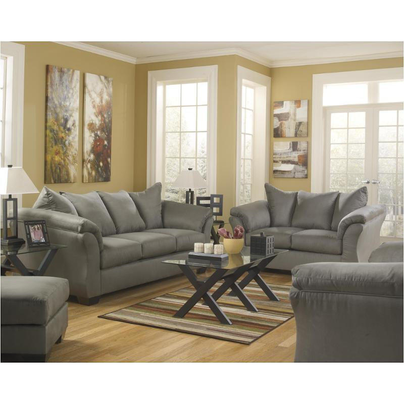7500538 Ashley Furniture Darcy Cobblestone Living Room Sofa