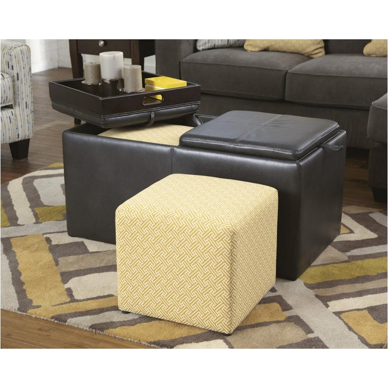 low priced da141 cc391 7970011 Ashley Furniture Hodan - Marble Ottoman With Storage