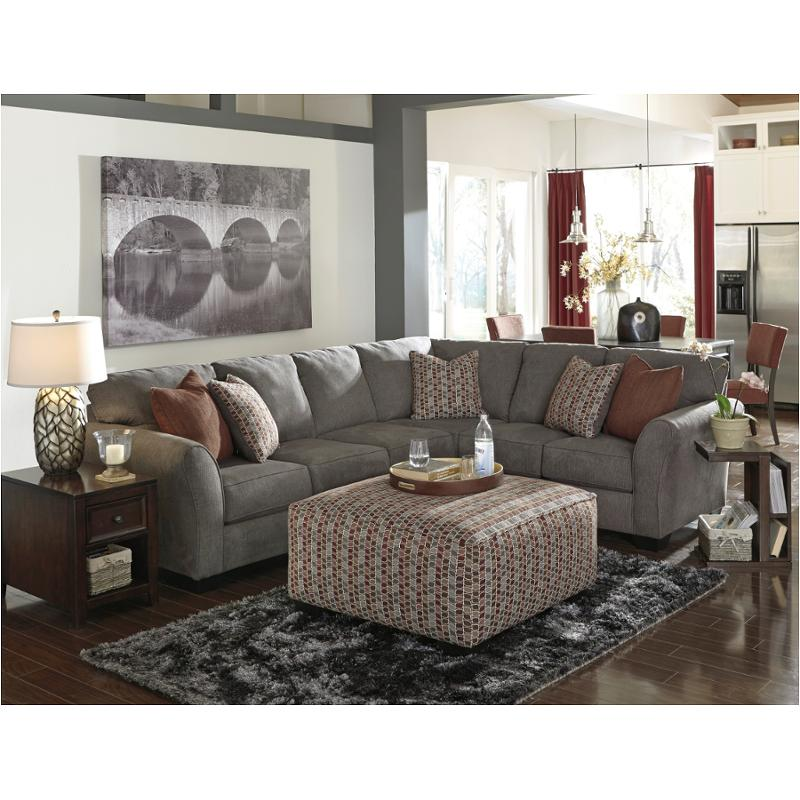 8680066 Ashley Furniture Doralin Steel Laf Sofa