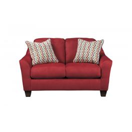 9580135 Ashley Furniture Hannin Spice Living Room Loveseat