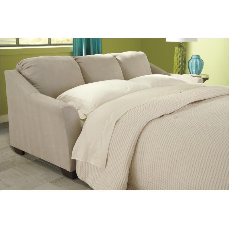 9580339 Ashley Furniture Hannin Stone Queen Sofa Sleeper