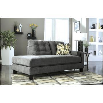 9700317 Ashley Furniture MallbernCharcoal Raf Corner Chaise