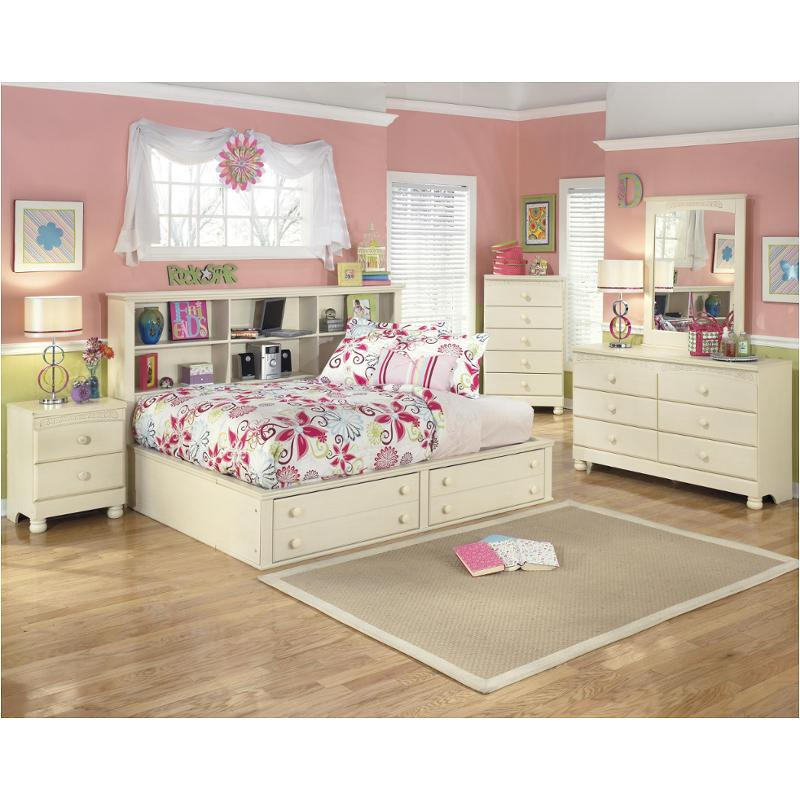 B213-85 Ashley Furniture Cottage Retreat Twin Bookcase Bed With Storage Fb