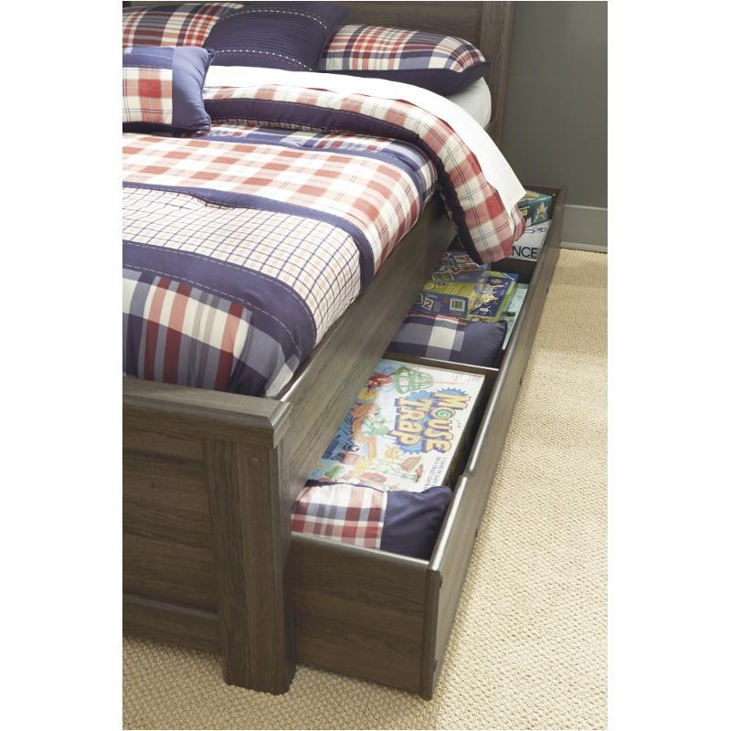 B251 60 Ashley Furniture Juararo Dark Brown Bedroom Bed