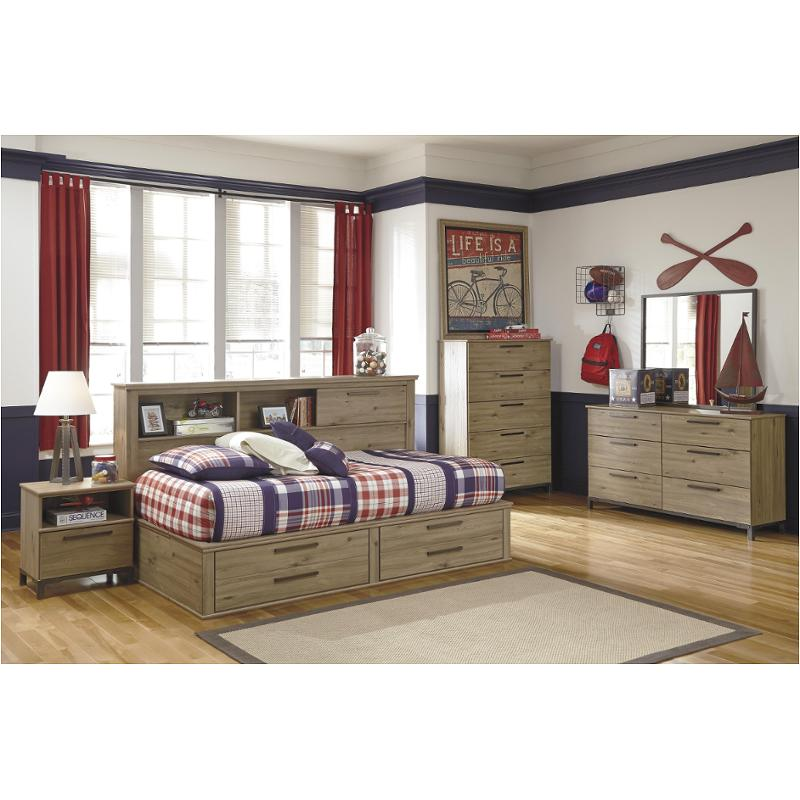 B298 85 Ashley Furniture Twin Bookcase Daybed With Storage Fb