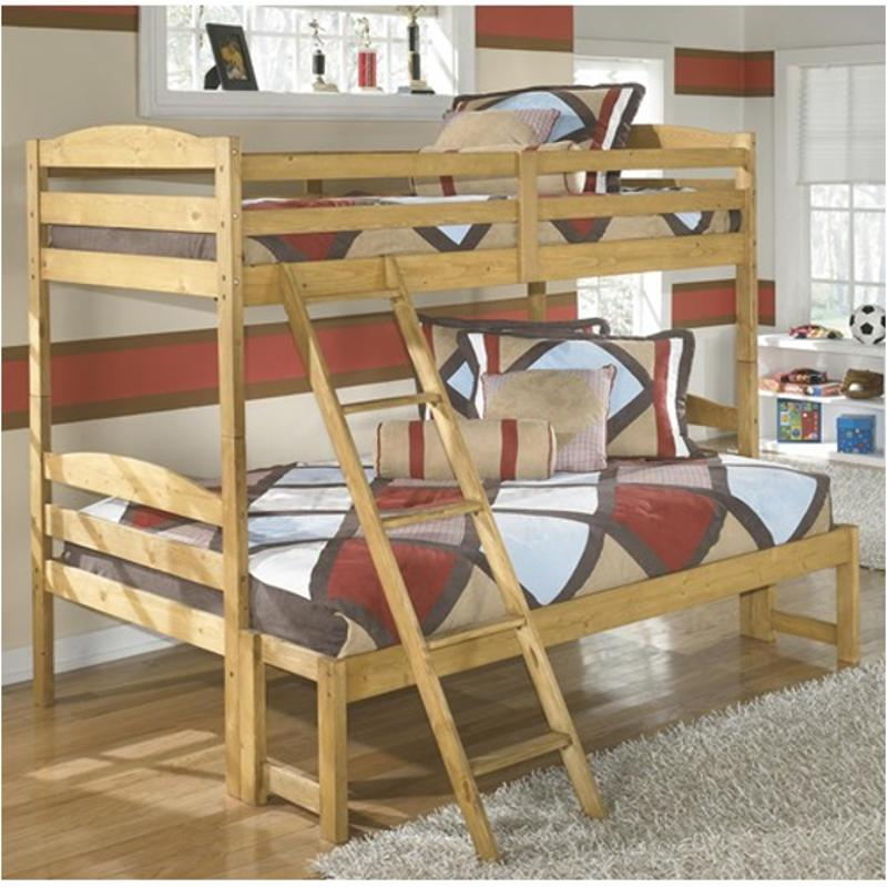 B505 58p Ashley Furniture Broffin Twin Over Full Bunk Bed
