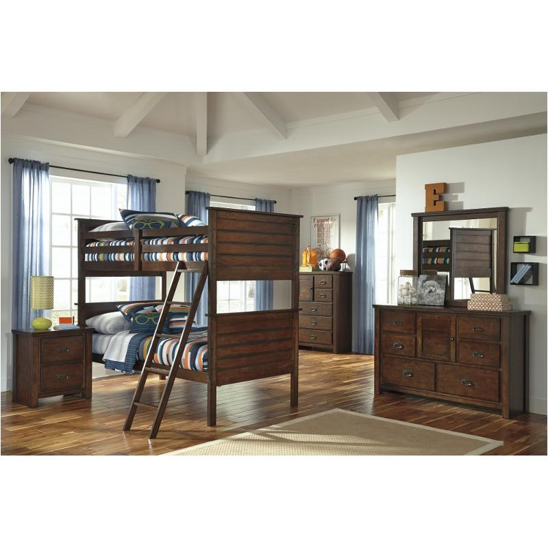 B567 59p Ashley Furniture Twin Twin Bunk Bed