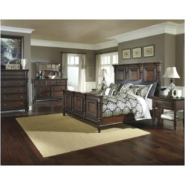 B668 158 Ashley Furniture Key Town Eastern King Mansion Panel Bed