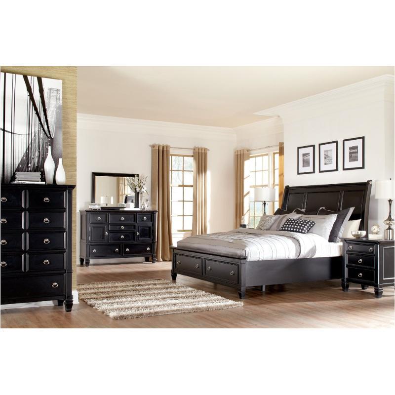 b671 77 ashley furniture greensburg black queen storage bed rh homelivingfurniture com