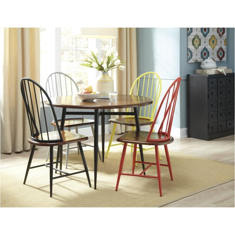D299 14 Ashley Furniture Shanilee Round Dining Room Table