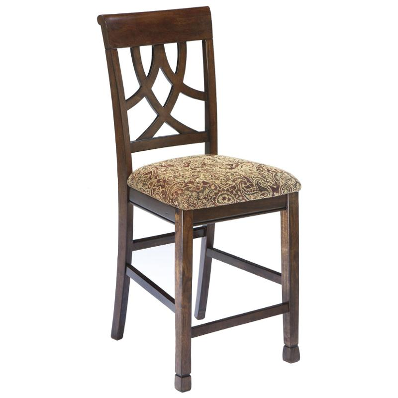 d436 124 ashley furniture upholstered barstool