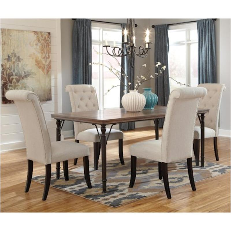 Ashley Furniture Tripton Medium Brown Dining Bench With Corner: D530-25 Ashley Furniture Rectangular Dining Room Table