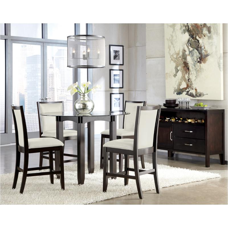 D550 13b Ashley Furniture Trishelle Dining Room Counter Height Table