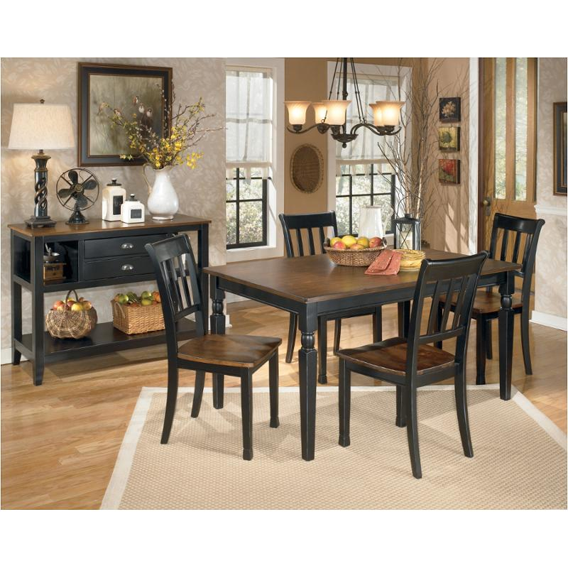 Ashley Furniture Dining Room Table: D580-25 Ashley Furniture Rectangular Dining Room Table