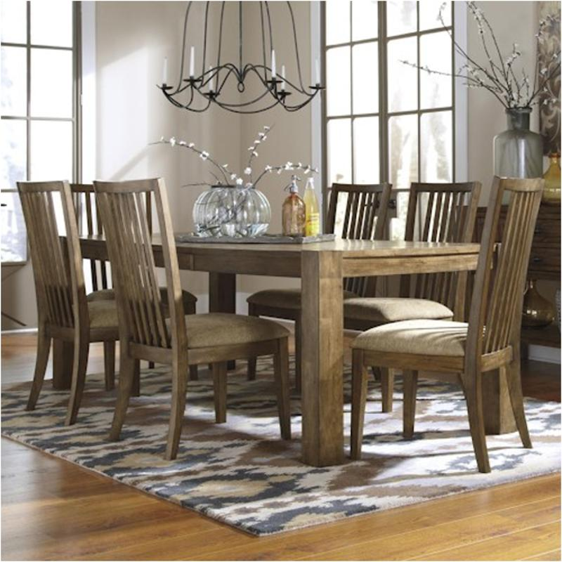 Amazing D585 35 Ashley Furniture Birnalla Light Brown Rectangular Dining Room Butterfly Extension Table Download Free Architecture Designs Terstmadebymaigaardcom