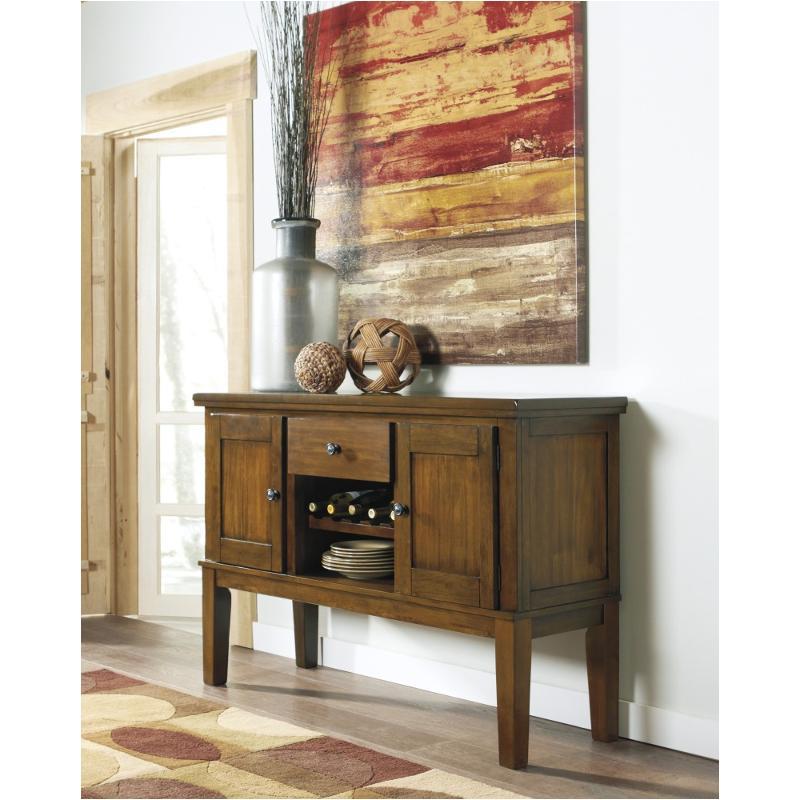 D594 60 Ashley Furniture Ralene Medium Brown Dining Room Server