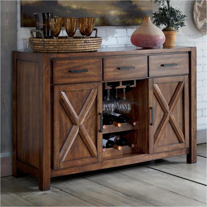 d644 60 ashley furniture d644 dining room dining room server - Dining Room Server Furniture
