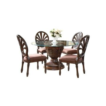 D705 50b Ashley Furniture Ledelle Brown Dining Room Dinette Table