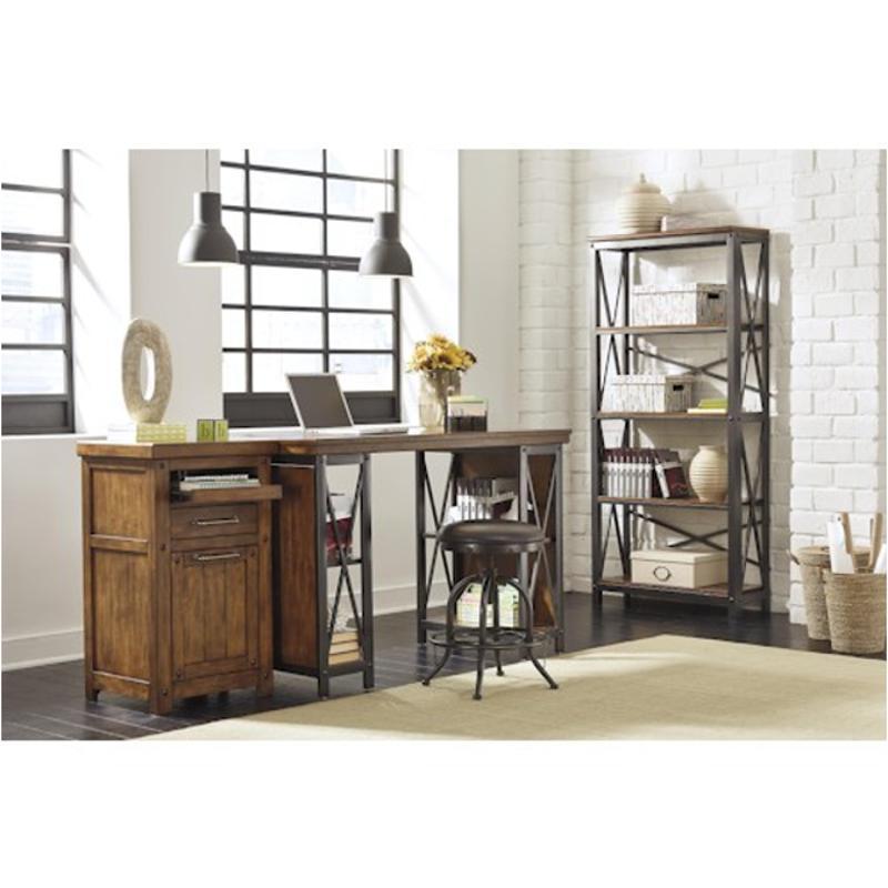 H526-34 Ashley Furniture Home Office Counter Large Desk