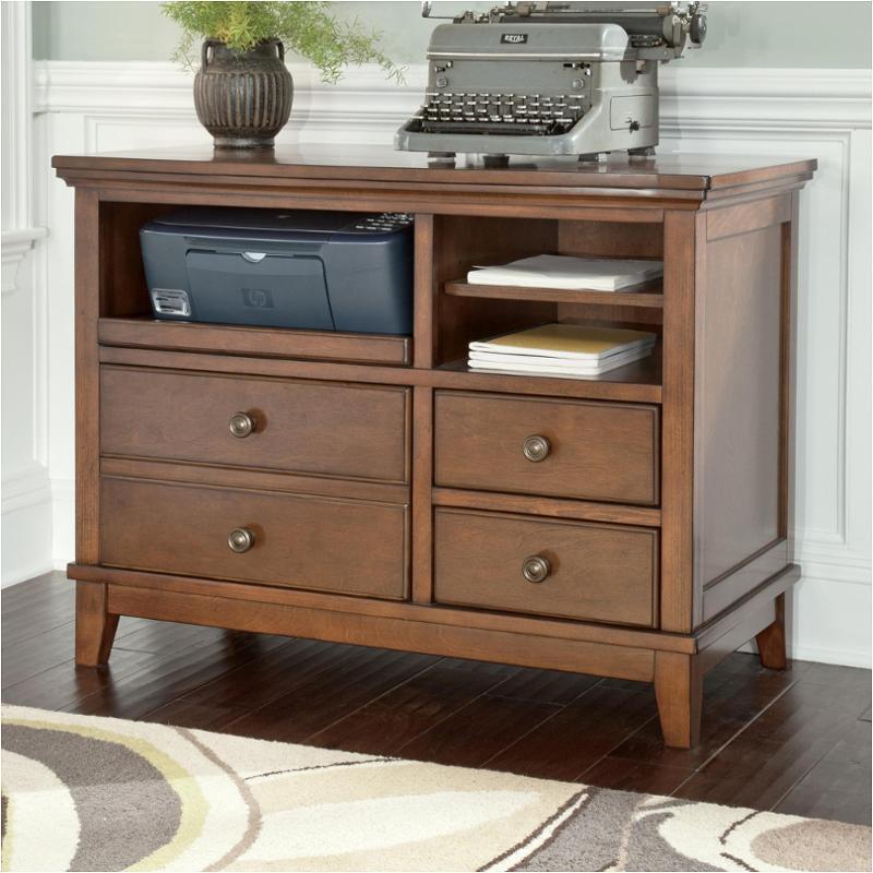home office buy burkesville. H565-40 Ashley Furniture Burkesville - Medium Brown Home Office Cabinet Buy I