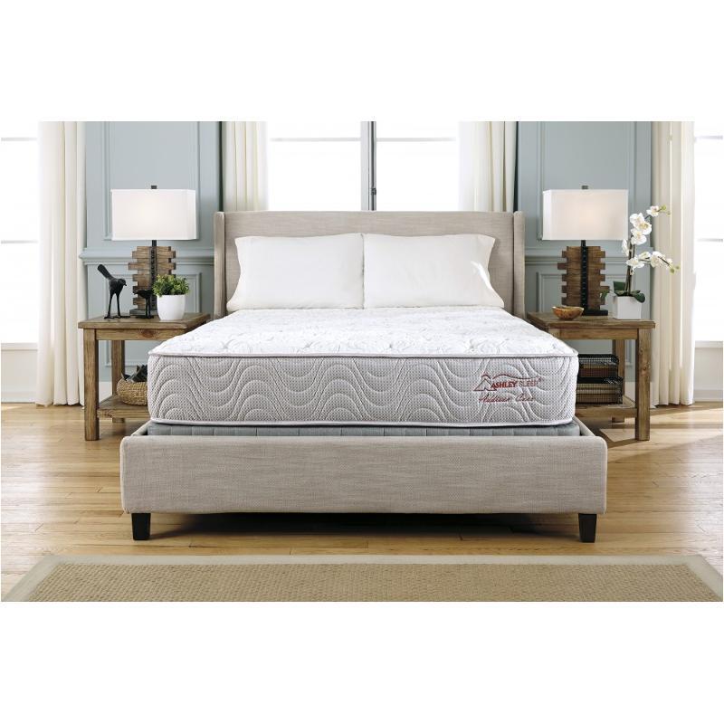 m85541 ashley furniture addison beach firm bedding king mattress rh homelivingfurniture com