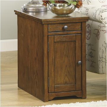 T127 699 Ashley Furniture Laflorn Multi Chair Side End Table