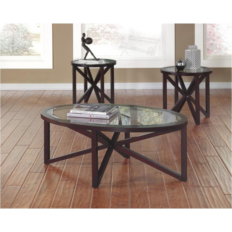 T049 13 Ashley Furniture Banilee Living Room Occasional: T291-13 Ashley Furniture Occasional Table Set