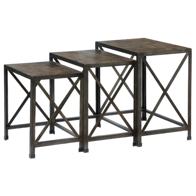 T500 716 Ashley Furniture Vennilux   Multi Living Room Nesting Table
