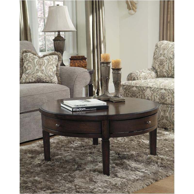 Holloway Living Room Round Tail Table