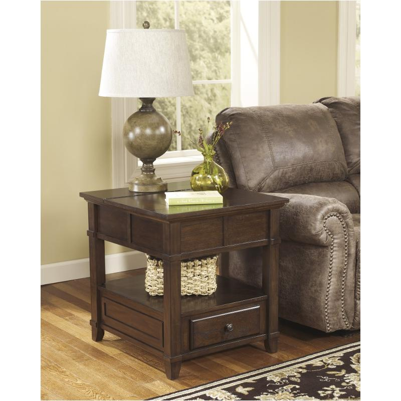 End Year Sale Ashley Furniture: T845-3 Ashley Furniture Rectangular End Table
