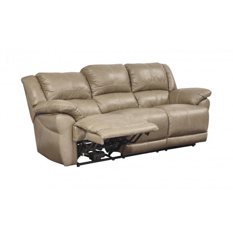 U9890488 Ashley Furniture Lenoris Caramel Reclining Sofa