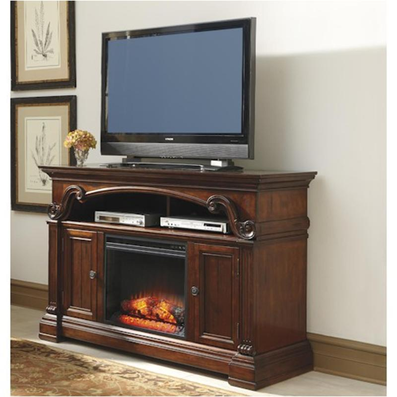 W669 68 Ashley Furniture Large Tv Stand With Fireplace Option