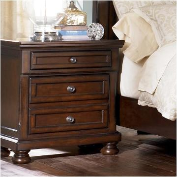 B697-92 Ashley Furniture Porter - Rustic Brown Bedroom Nightstand