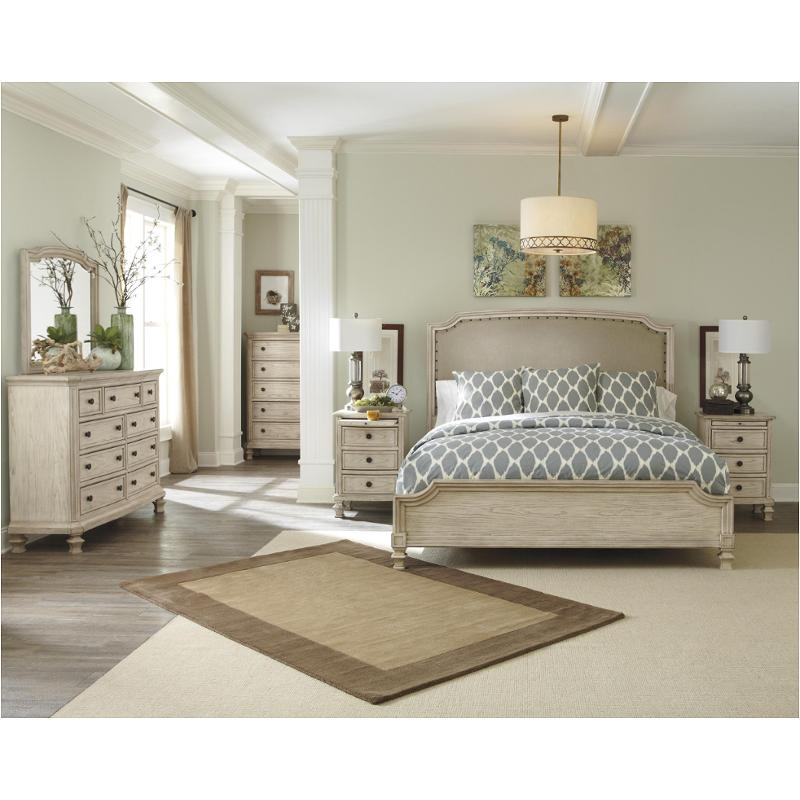 Ashley Furniture California: B693-78-ck Ashley Furniture California King Upholstered