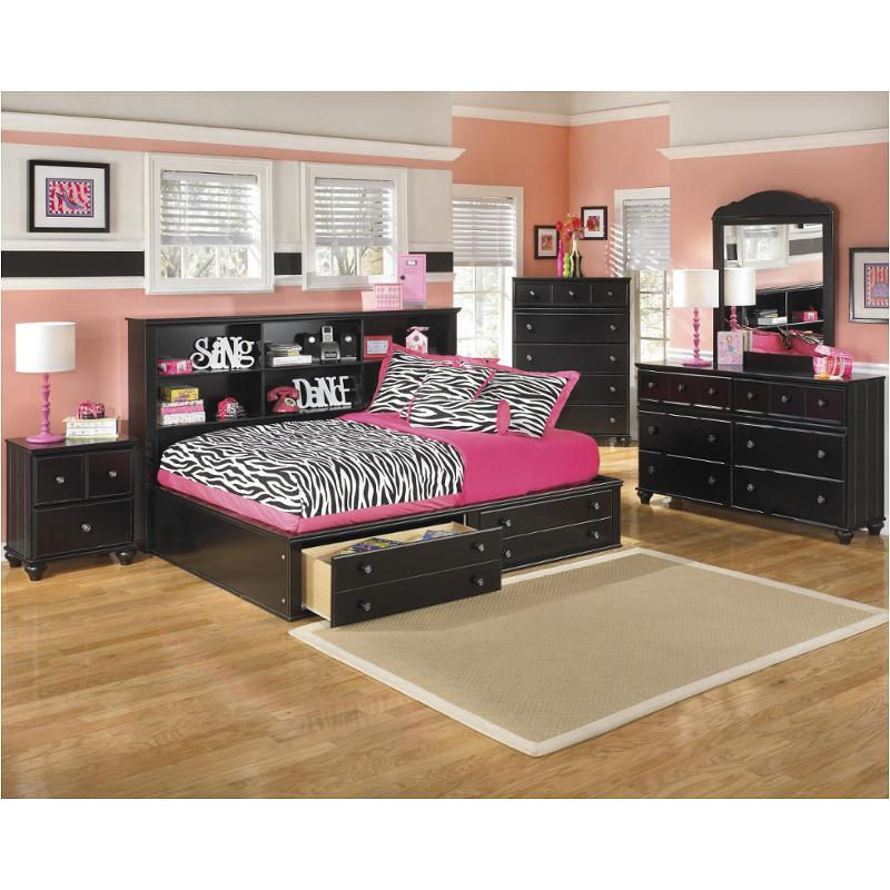 B150-85-fl Ashley Furniture Full Bookcases Bed With Storage Fb
