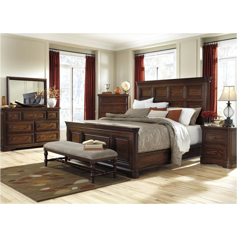 Ashley Furniture California: B700-58-ck Ashley Furniture Leximore California King Panel Bed