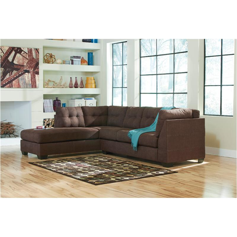 4520116 Ashley Furniture Maier Walnut Living Room Laf Chaise