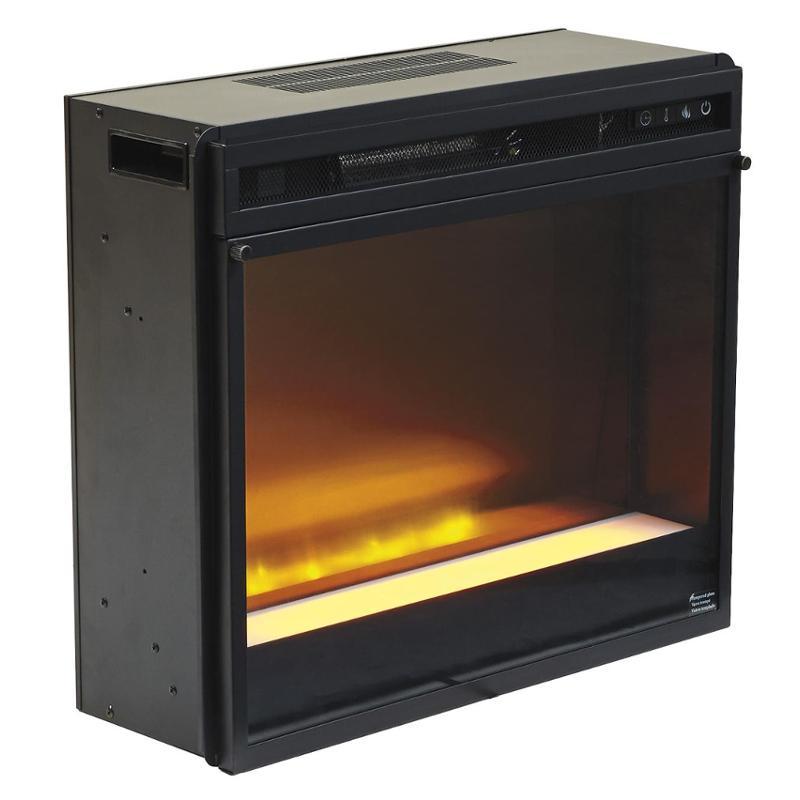 W100 02 ashley furniture fireplace insert glassstone w100 02 ashley furniture entertainment accessories black fireplace insert glassstone teraionfo