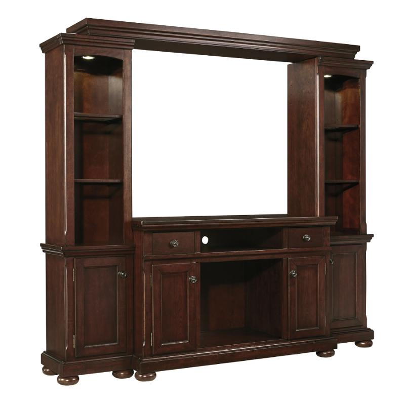 Superieur W697 120 Ashley Furniture Porter   Rustic Brown Home Entertainment Tv  Console