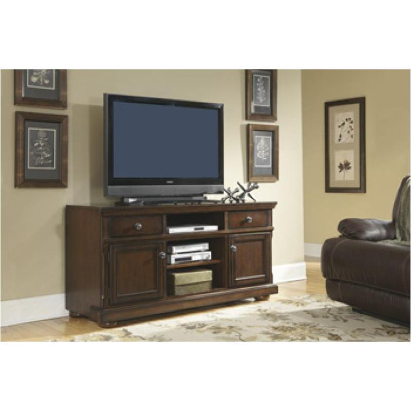W697 132 Ashley Furniture Porter Rustic Brown Home Entertainment Tv Console