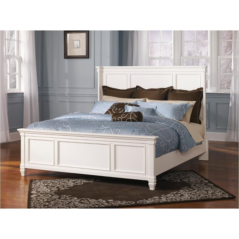 B672-57 Ashley Furniture Prentice - White Bedroom Queen Panel Bed