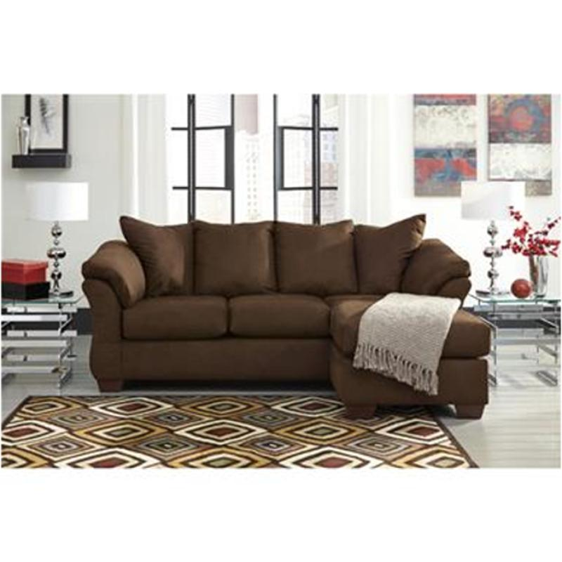 7500418 ashley furniture darcy cafe living room sofa chaise for Ashley chaise lounge furniture