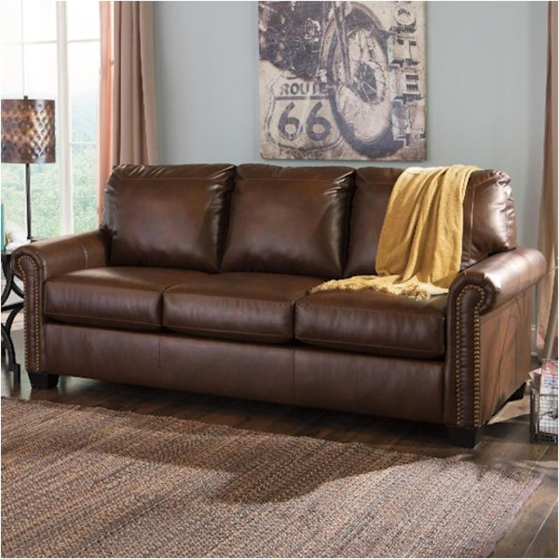 3800039 Ashley Furniture Lottie Durablend Chocolate Living Room Sleeper