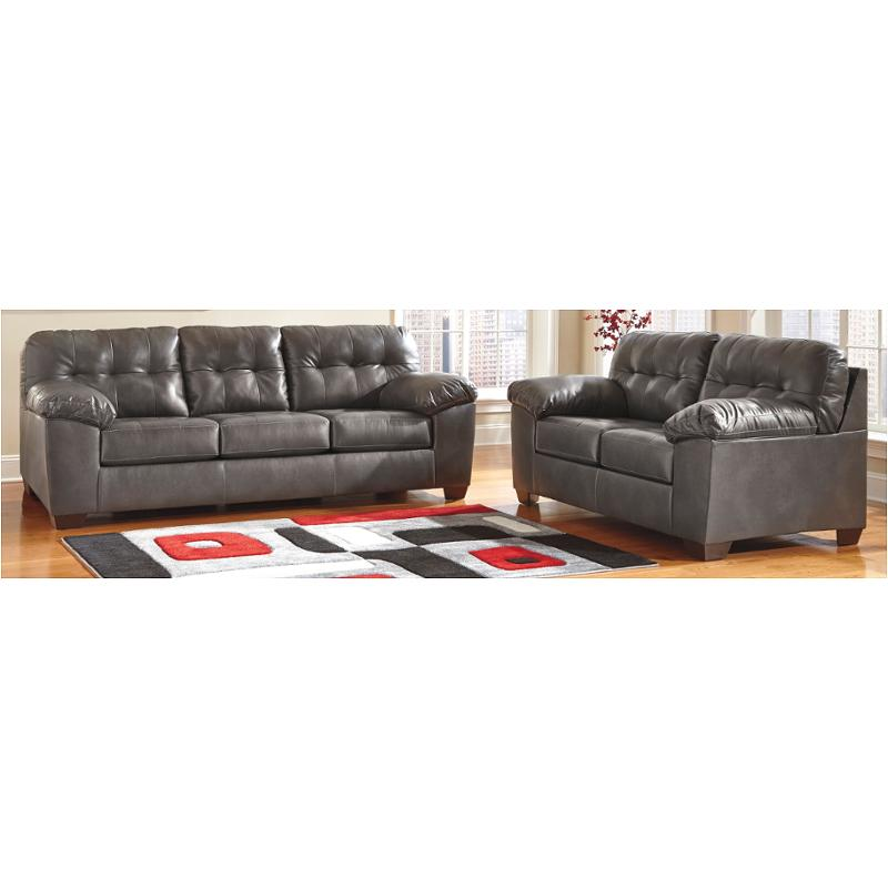 2010238 Ashley Furniture Alliston Durablend   Gray Living Room Sofa
