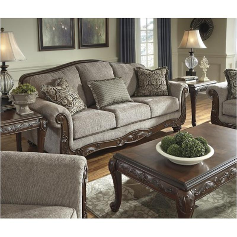 5760338 Ashley Furniture Cecilyn Cocoa Living Room Sofa