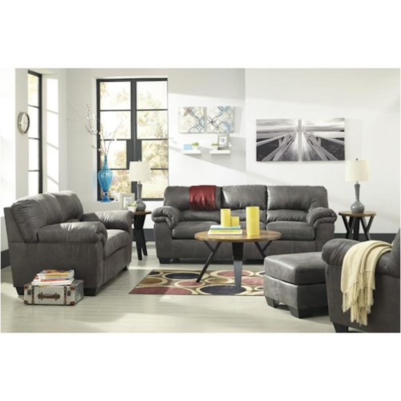 1200138 Ashley Furniture Bladen Slate Living Room Sofa Slate